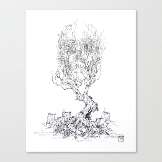 Extinction  Canvas Print