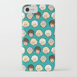 Golden Girls Green Pop Art iPhone Case
