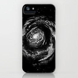 Dark Spiral iPhone Case