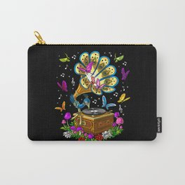 Hippie Gramophone Carry-All Pouch