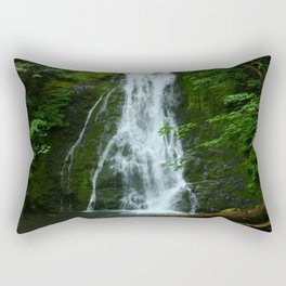 Madison Creek Falls Rectangular Pillow