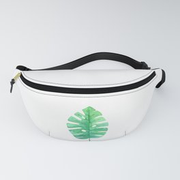 Monstera Lush Green Fanny Pack
