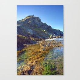 San Juan de Gastelugatxe Canvas Print