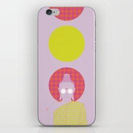 Buddha : Imagine Silence! (PopArtVersion) iPhone Skin