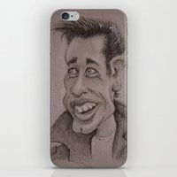 danny ivan iPhone & iPod Skins featuring Danny by chadizms