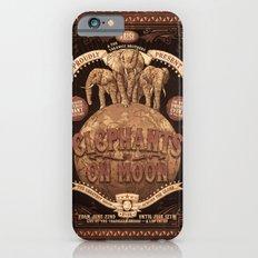 elephants on moon iPhone 6s Slim Case