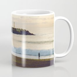 Lonely beach Coffee Mug