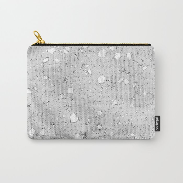 Terrazzo: grey Carry-All Pouch