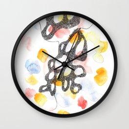 Scandi Micron Art Design   170808 Micron Watercolour 12 Wall Clock