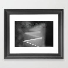 Weirdo. Framed Art Print