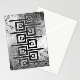 Order in Abstract IV Stationery Cards