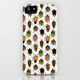 Shield bug pattern iPhone Case