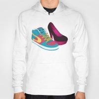 shoe Hoodies featuring Shoe Lovin' by mrbiscuit