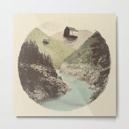Antigravity (Circle) Metal Print