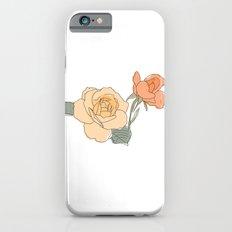 Handdrawn Roses iPhone 6s Slim Case