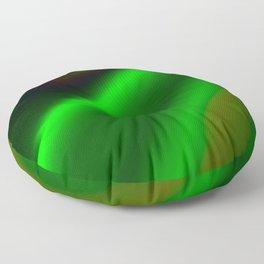 Emerald Fire Floor Pillow