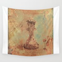 king Wall Tapestries featuring King by Fernando Vieira