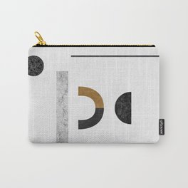 Abstract Geometric III, Modern Artwork Carry-All Pouch