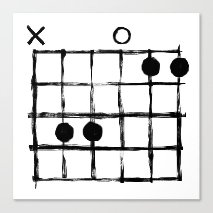 Csus Chord Canvas Print By Csus Society6