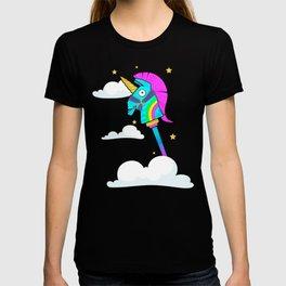 Cute Rainbow Smash Fornite T-shirt