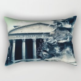 All Roads Lead to Rome Rectangular Pillow
