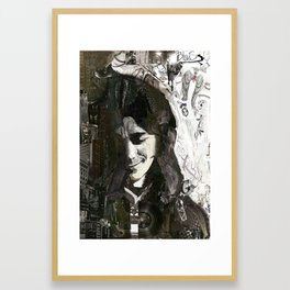 Rory Gallagher Framed Art Print