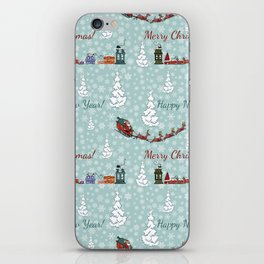 santa reindeer team SB12 iPhone Skin