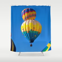 Ballooning Shower Curtain