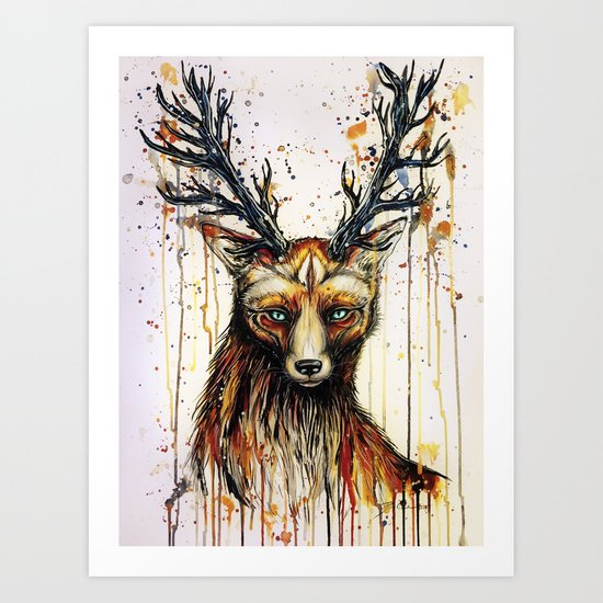 """""""God of the forest"""" Art Print"""