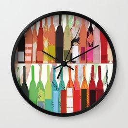 Lisa Wine Wall Clock