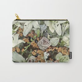 Toony World - Floral 7 Carry-All Pouch