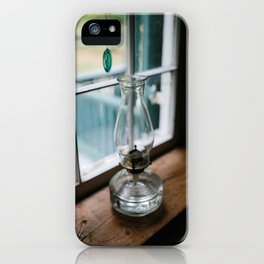 Leave a Light on When I'm Gone iPhone Case