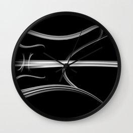 SMOKED Wall Clock