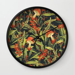 Vintage Garden 18 (Sacred Forest) Wall Clock