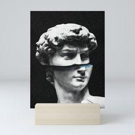 Deconstructed David Mini Art Print