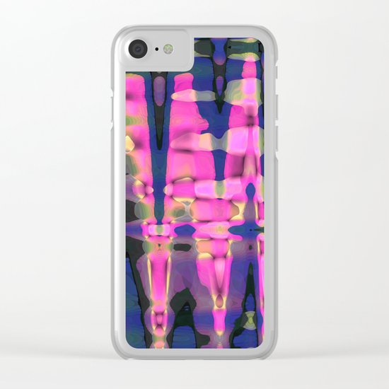 Color streams Clear iPhone Case