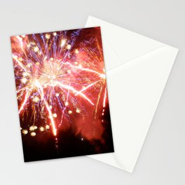 Fireworks in the Forest Stationery Cards
