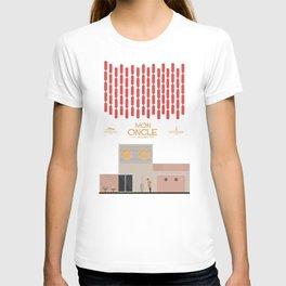 Mon Oncle - Jacques Tati Movie Poster, classic French movie, old film, Cinéma français, fun, humor T-shirt