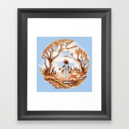 Pikapooh Framed Art Print