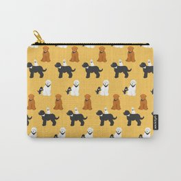 Labradoodle friends Carry-All Pouch