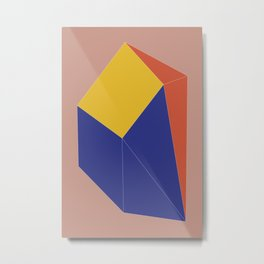 Minimal Geometry No. 12 Metal Print