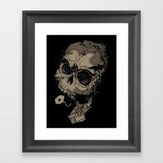 Knocked Speechless Framed Art Print