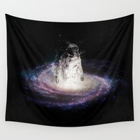 portal Wall Tapestries featuring The Portal by Seamless