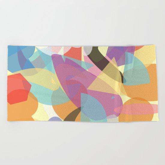 Abstract 23 Beach Towel