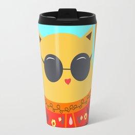 Undercover cat Travel Mug