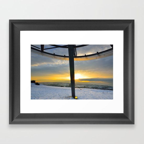 The Halo Panopticon Framed Art Print