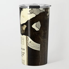 Charlie Chaplin Covers the World Travel Mug