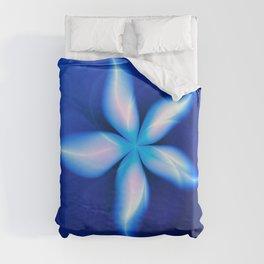 La Fleur Magique de la Sorcière Fractal Duvet Cover