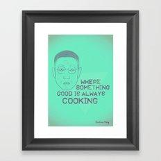 Breaking Bad - Faces - Gustavo Fring Framed Art Print
