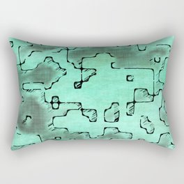 fantasy dungeon maps 7 Rectangular Pillow